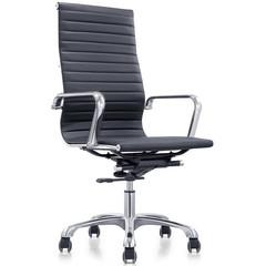 Кресло для руководителя Easy Chair 705 TPU черное (искусственная кожа/металл)