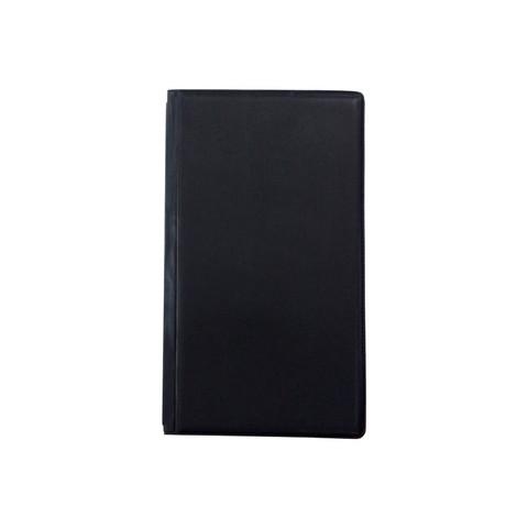 Визитница настольная Attache пластиковая на 120 визиток черная