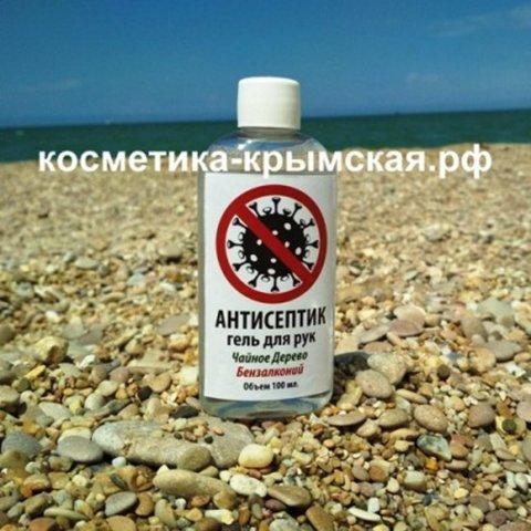 Антисептик-гель для рук «Чайное дерево и бензалконий»™Фитон-Крым