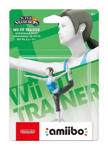 Фигурка Amiibo: Super Smash Bros. Wii Fit Trainer|| Тренер Wii Fit