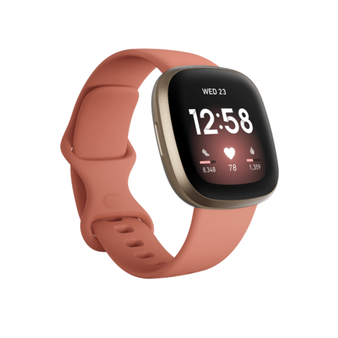 Fitbit Versa 3 розовый