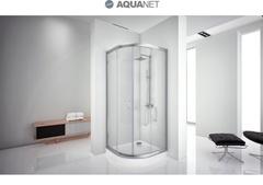 Душевой уголок Aquanet Alfa 90x90-12, профиль хром, стекло прозрачное