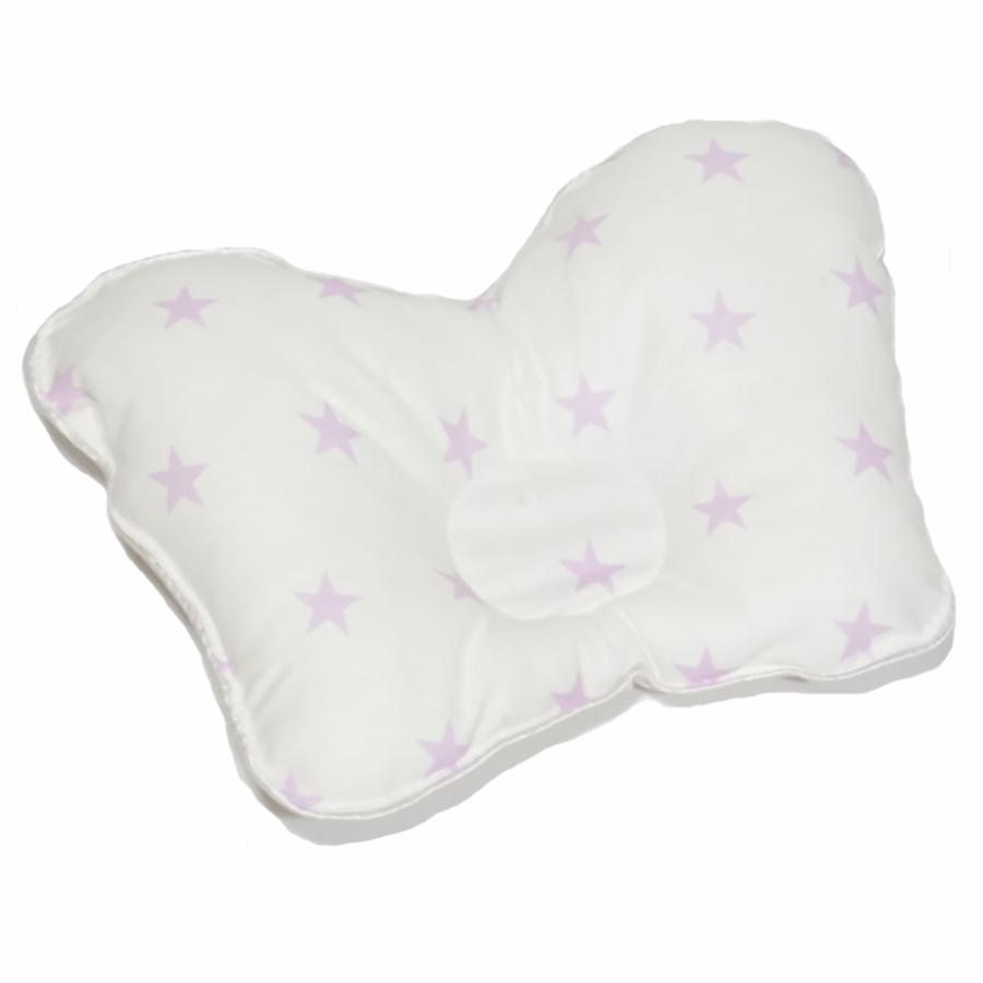 Подушки для новорожденных Подушечка для новорожденного Farla Agoo Сиреневые звездочки IMG_0611.JPG