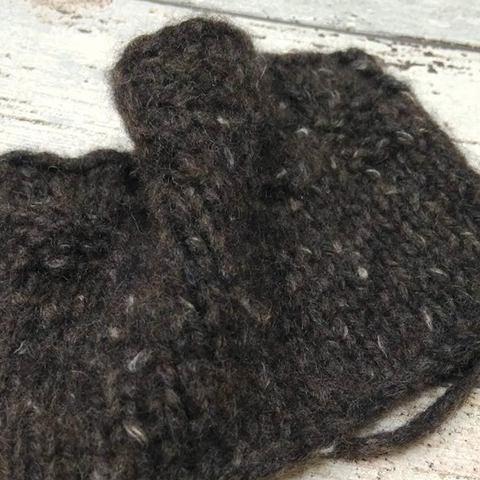 Твид с кашемиром PECCI FILATI VELASQUEZ 220 серо-коричневый