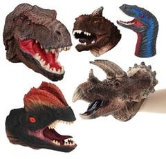 Динозавр игрушка перчатка на руку