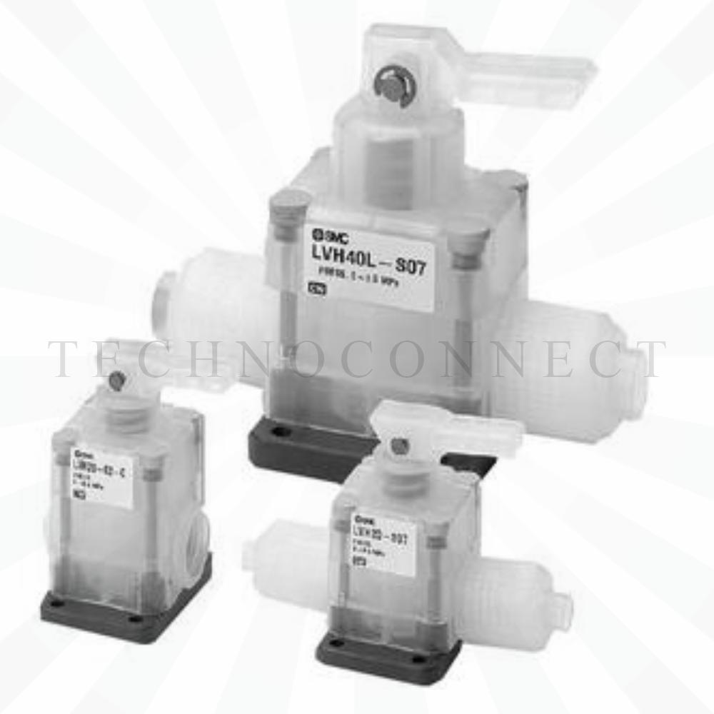 LVH40-04-C   2/2 Клапан с ручным упр., Н.З., Rc1/2