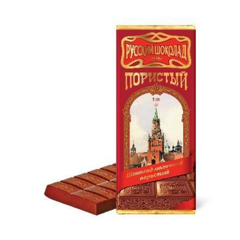 Шоколад молочный пористый, Русский шоколад, 90 гр.