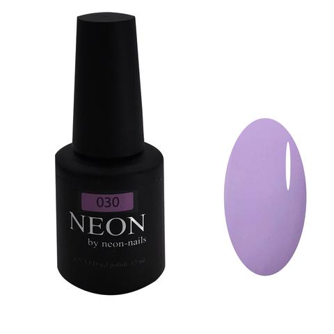 NEON, гель-лак Lavender № 030 , ( 12 ml) светло-лавандовый