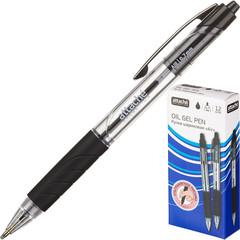 Ручка шариковая автоматическая Attache Selection Air черная (толщина линии 0.7 мм)