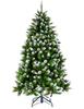 Ёлка Triumph Tree Императрица заснеженная с шишками 230 см