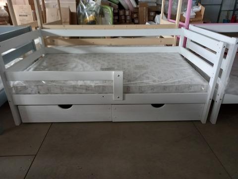 Подростковая кровать Софа Incanto «Dream Home» , цвет белый с ящиками