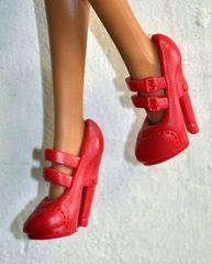 Туфли красные для кукол Эвер Афтер Хай и Монстр Хай