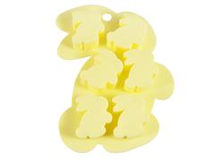 """6561 FISSMAN Форма для льда и шоколада """"Зайчата"""" 15x11x1,5 см"""