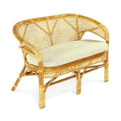 Плетеный диван из ротанга Vinotti Пеланги