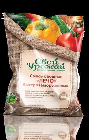 """Овощная смесь Лечо """"Свой Урожай"""" 400 г"""