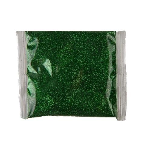 Блёстки в пакетике 80 г, цвет: зелёный