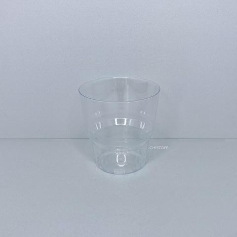 Стакан пластиковый стеклоподобный 200 мл (50 шт.)