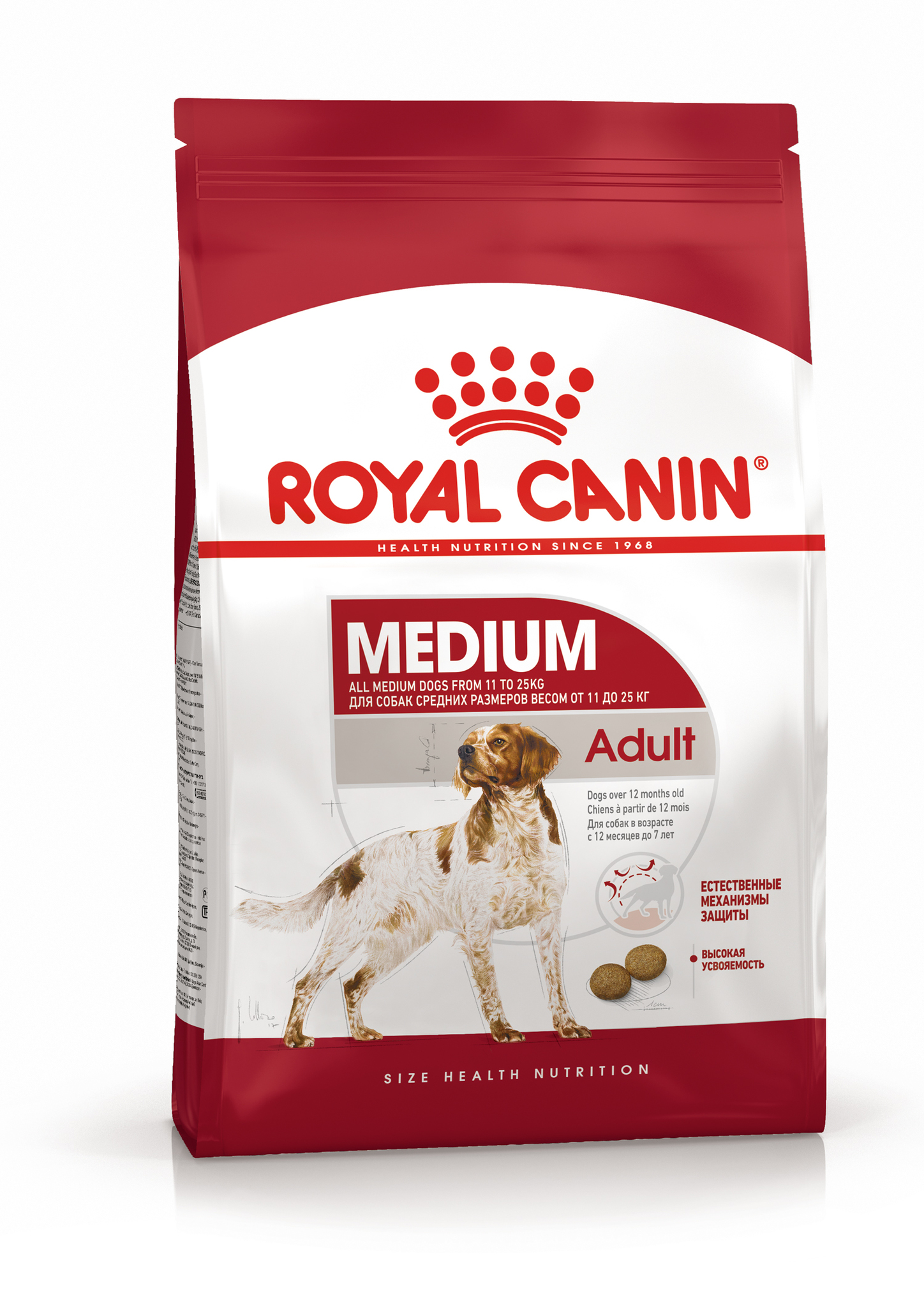 Сухой корм Корм для собак средних пород, Royal Canin Medium Adult 4627109384778_1.jpg