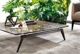 Журнальный столик из мрамора 108*108, Италия