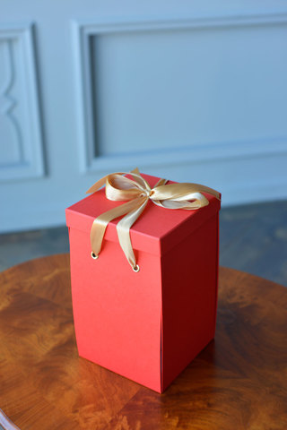 Подарочная коробка Mini, красная (25х16х16) WoW Эффект