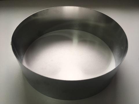 Кольцо-резак для торта H10 D30, нерж. сталь 1 мм.