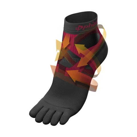 Носки PHITEN 5 TOE SOCKS (SOCKING) RACER REGULAR