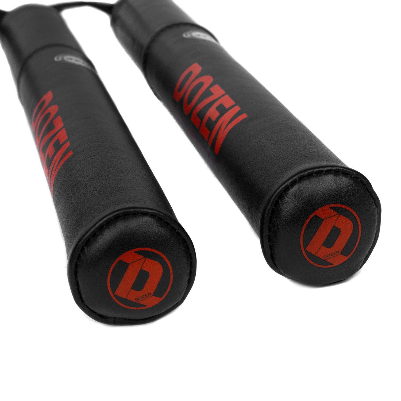 Лападаны Dozen Monochrome черно-красные наконечники
