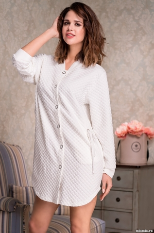 Короткий халат Mia-Amore 6587 NADIN