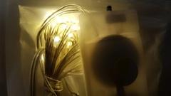 Светодиодная гирлянда роса 3м 30LED тепл/бел
