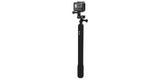Монопод телескопический GoPro El Grande 97см (AGXTS-001) сложен с камерой