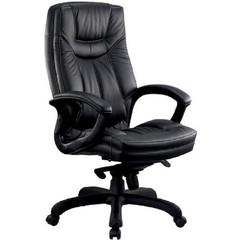 Кресло для руководителя Easy Chair CS-608Е черное (кожа/пластик)