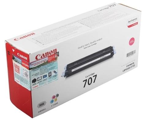Оригинальный картридж Canon 707M 9422A004 пурпурный