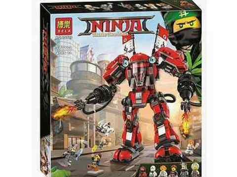 Конструктор Ниндзяго 6412 Робот Кая, 451 дет.