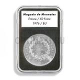 Прямоугольные капсулы EVERSLAB для монеты диаметром 15 mm