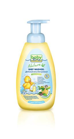 Детский гель для купания Babyline™ Nature 250мл с лечебными травами