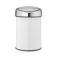 Мусорный бак Brabantia Touch Bin (3л), Белый