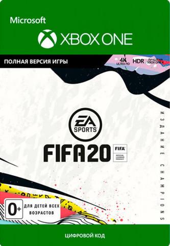 FIFA 20 - издание Champions (Xbox One/Series S/X, цифровой ключ, русская версия)