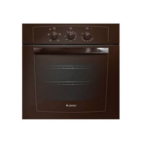 Духовой шкаф Газовый Gefest ДГЭ 601-01 К коричневый