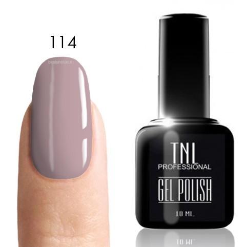 TNL Classic TNL, Гель-лак № 114 - розово-лавандовый (10 мл) 114.jpg