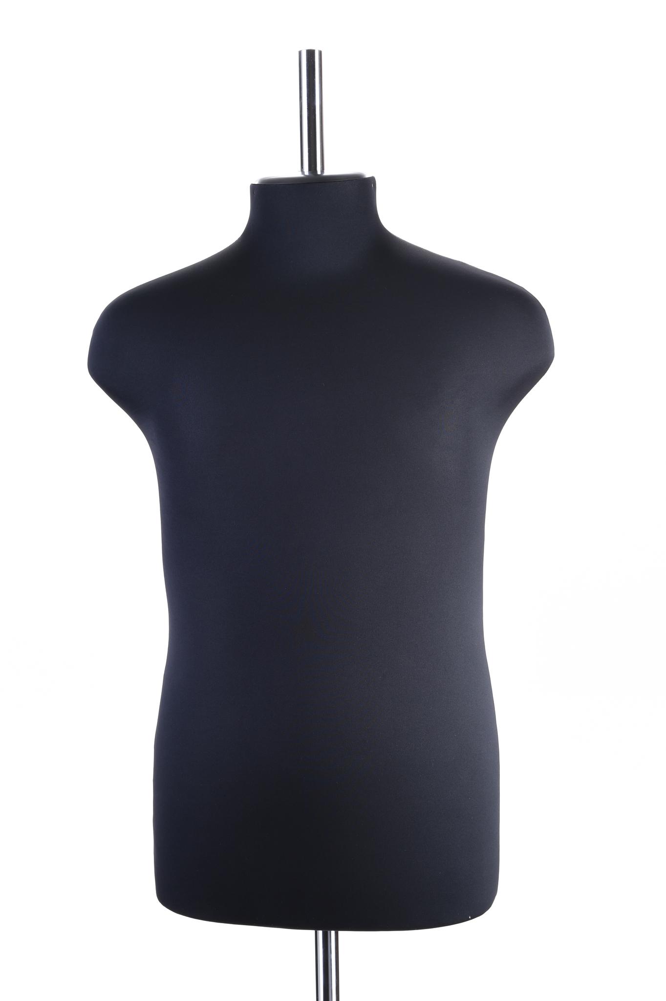Манекен портновский мужской 48 размер ОСТ (черный)