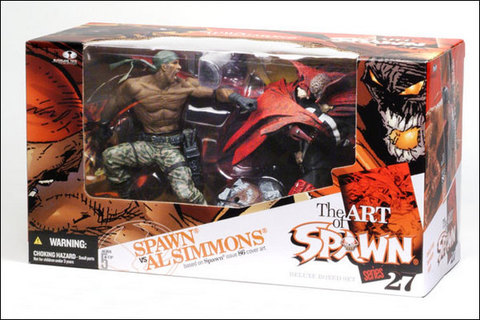 Spawn Deluxe Boxed Set — Spawn vs. Al Simmons