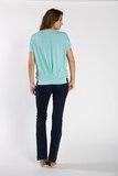 Блузка для беременных 01519 зеленый