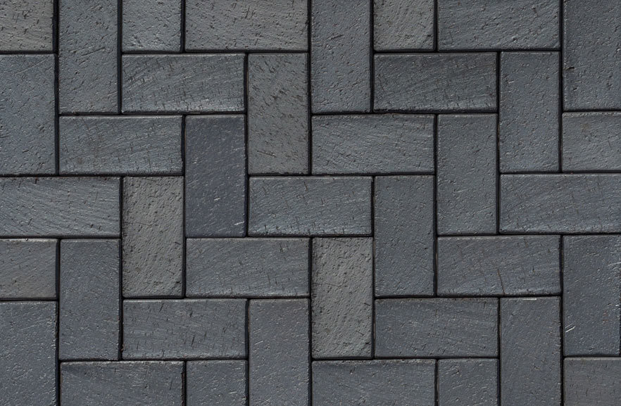 ABC Berlin blau-anthrazit, 200x100x52 - Тротуарная клинкерная брусчатка