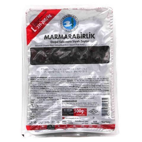 Маслины вяленые в вакууме L, Marmarabilik, 500 г
