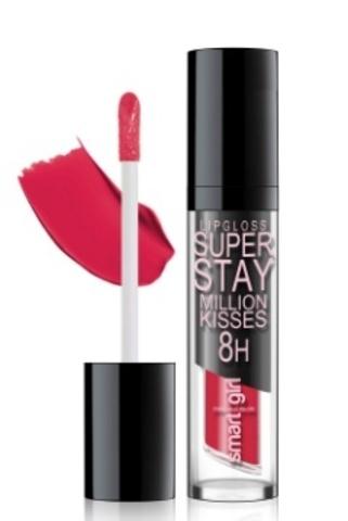 BelorDesign Smart Girl Супер стойкий блеск для губ Million kisses тон 207 голливудский красный