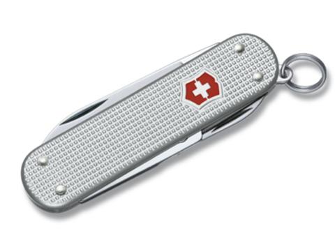 Нож-брелок Victorinox Classic, 58 мм, 5 функций, серебристый123