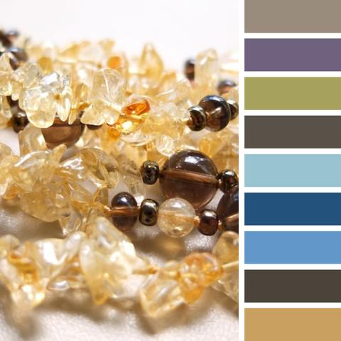 с чем носить цитрин -несколько цветов одежды, подходящих к бусам из цитрина