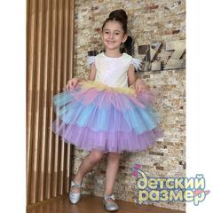 Платье (пайетки, перышки)