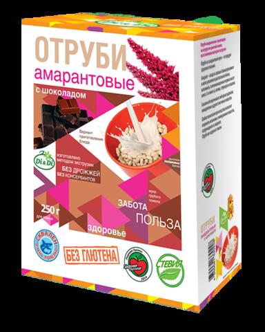 Отруби Амарантовые, 250 гр. (Ди энд Ди)