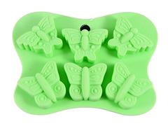 """6558 FISSMAN Форма для льда и шоколада """"Бабочки"""" 14x10,5x2 см"""